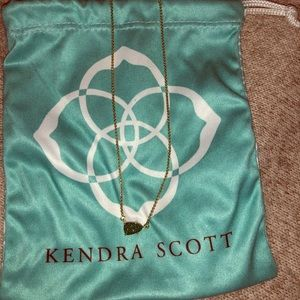 Green Druzy Kendra Scott necklace
